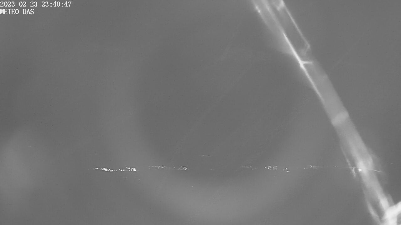 Webcam des del poble de Das